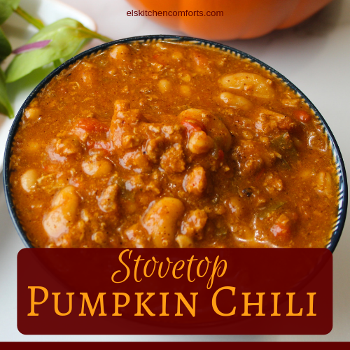 Stovetop Pumpkin Chili