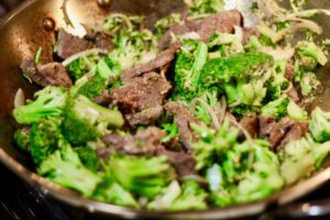 Panda Express Inspired Beef and Broccoli Recipe with tender beef and a delicious sauce.