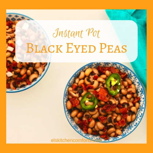 Instant Pot Black Eyed Peas