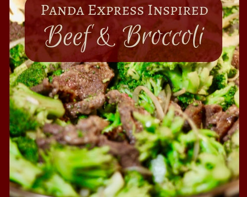 Panda Express Inspired Beef and Broccoli