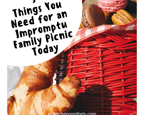5 Things You Need for an Impromptu Family Picnic Today