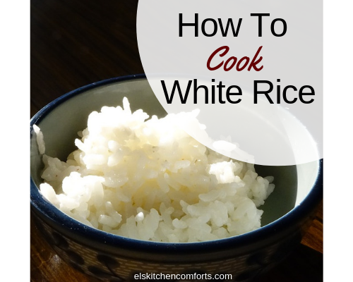 How To Cook White Rice