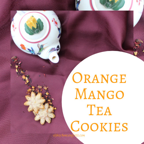 Orange Mango Tea Cookies