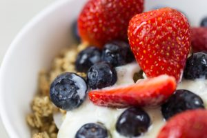 Simple Honey Nut Granola recipe that can double as a snack or breakfast for busy families.