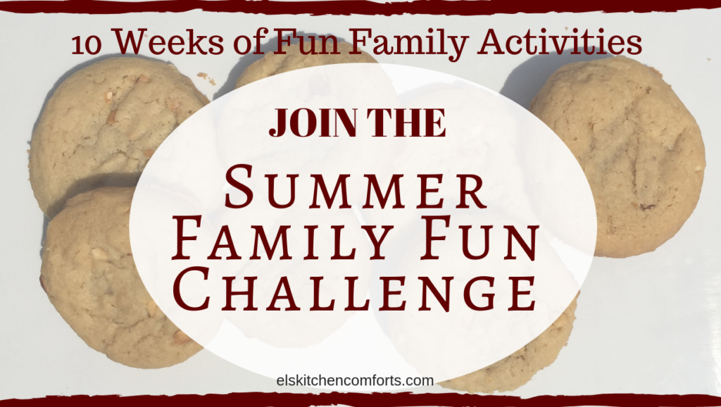 Let the El's Kitchen Comforts Summer Family Fun Challenge 2019 be your guide to making a lifetime of memories in under 45 minutes.