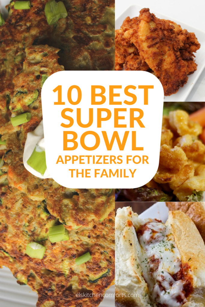 The 10 Best Super Bowl Appetizers for a Family. Because when game day comes you won't want to miss a moment of it.