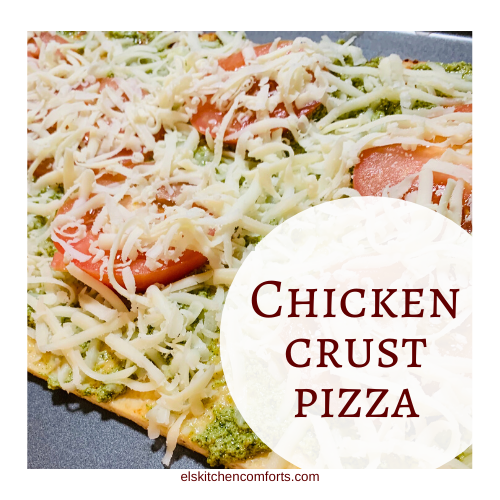 Keto Chicken Crust Pizza