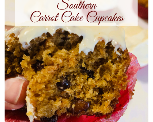 Southern Carrot Cake Cupcakes