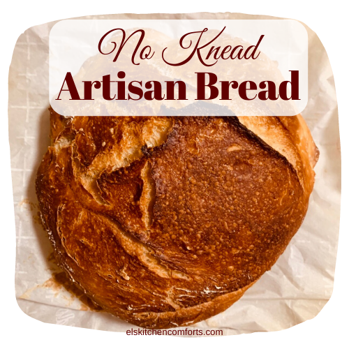 Homemade No Knead Artisan Bread