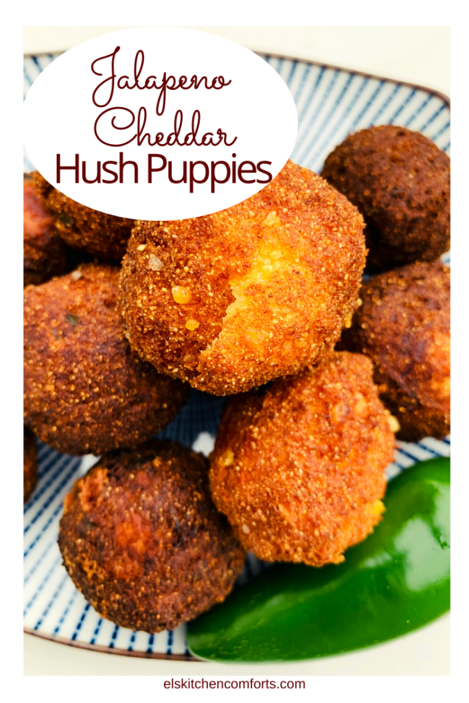 This jalapeno cheddar hush puppy recipe adds even more flavor to a savory little ball of dough.